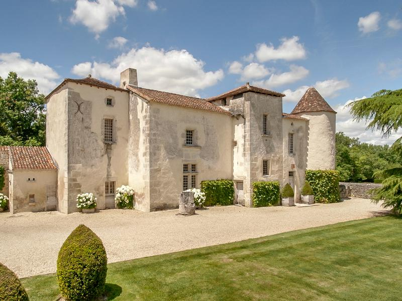 Chateau in Blanzac Porcheresse